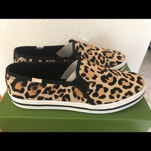 Shoes - Women's Keds x kate spade new york Leopard Slip On